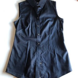 Banana Republic Non Iron Sleeveless Blouse
